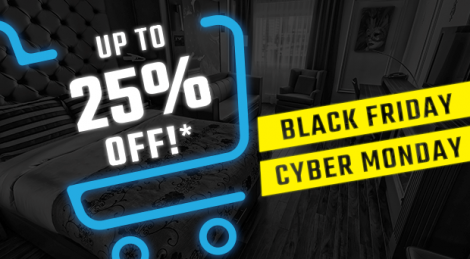Black Friday and Cyber Monday Deal of JARO Hotels from Quebec City