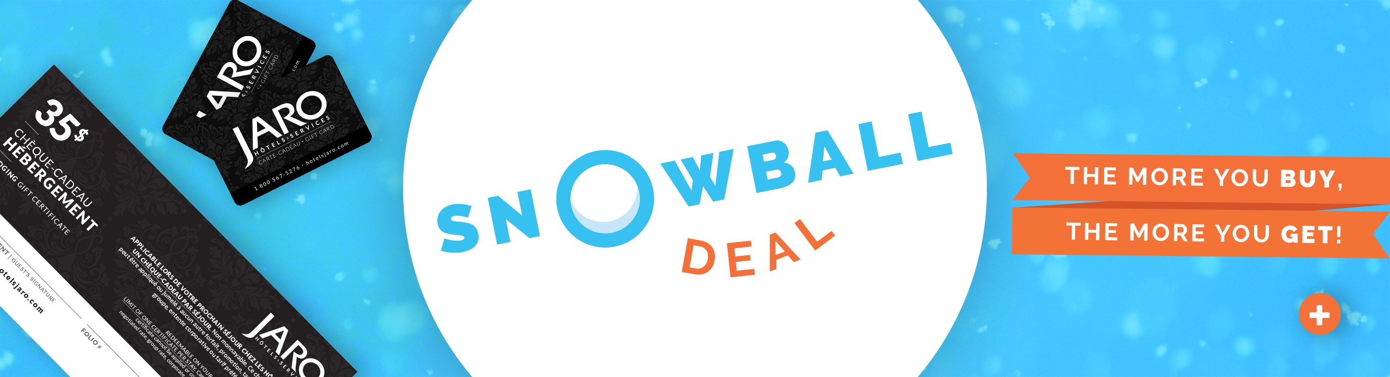 snowball-deal-gift-cards-gift-packages-jaro-hotels-quebec-city