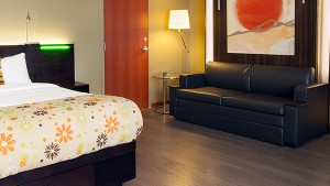 Adapted Trendy Room (type 7) of Hotel Must by JARO Hotels of Quebec City