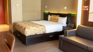Trendy Room with 2 Queen Beds (#4) at Hotel Must by JARO Hotels in Quebec City