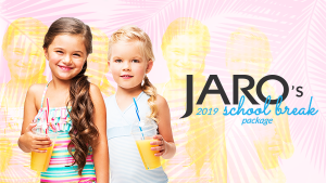 JARO Hotels' 2019 School Break Package