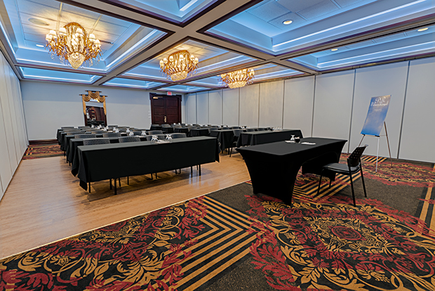 Valençay function room of Hotel Palace Royal by JARO Hotels of Quebec City