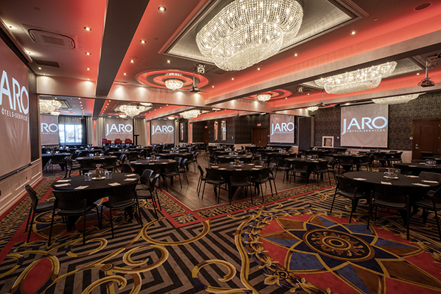 Hotel Plaza Québec's ballroom (by JARO Hotels of Quebec City)c
