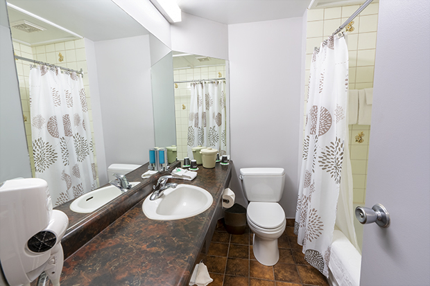 Econo-Traditional Room with Double Bed (#5) at Hotel Québec Inn by JARO Hotels of Quebec City