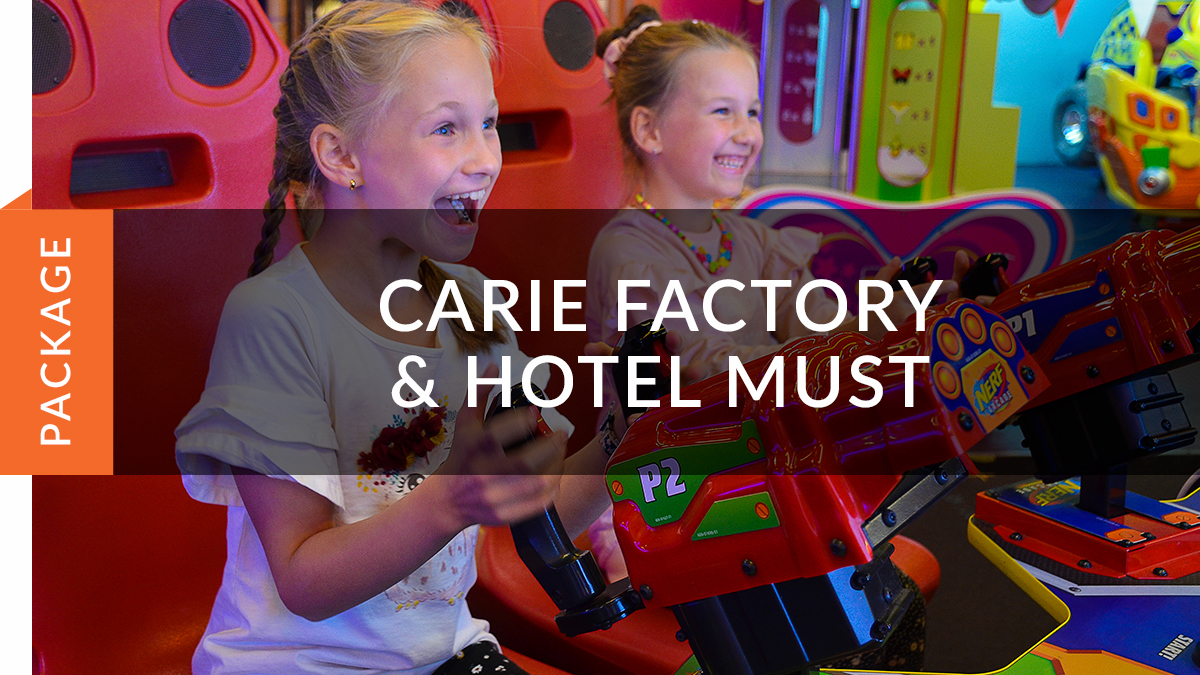 Package Carie Factory - Hotel Must