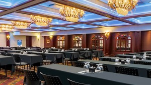 Amboise, Valençay and Chambord function rooms of Hotel Palace Royal by JARO Hotels of Quebec City