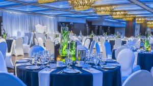 Ballroom of Hotel Palace Royal by JARO Hotels of Quebec City