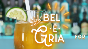 Cocktail of the Moment at the Bar Le Fou du Roy: Bel-E-Gria